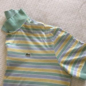 Lacoste Striped Polo